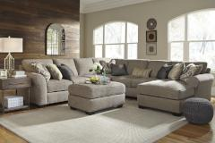 Ashley Furniture | Living Room 5 Piece Sectional With Right Chaise And Oversized Accent Ottoman in Pennsylvania 7470