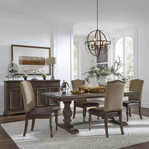 Liberty Furniture | Dining Opt Trestle Table 5 Piece Set in Charlottesville, Virginia 18142