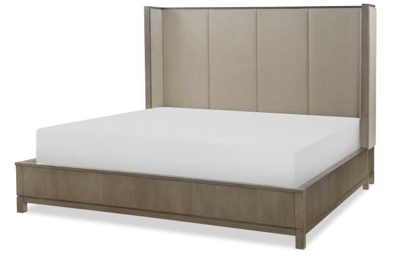 Legacy Classic Furniture | Bedroom CA King Uph Shelter Bed 4 Piece Bedroom Set in Pennsylvania 6939