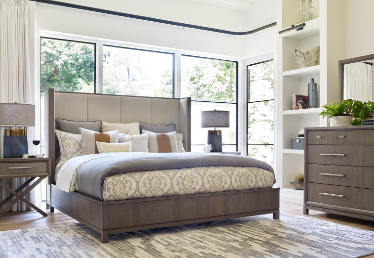 Legacy Classic Furniture | Bedroom Queen Uph Shelter Bed 4 Piece Bedroom in New Jersey, NJ 6841