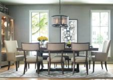 Legacy Classic Furniture | Dining Trestle Table 7 Piece Sets w/Host Chair in Pennsylvania 4860