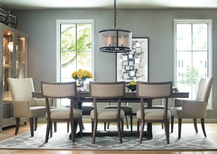 Legacy Classic Furniture | Dining Trestle Table Opt 7 Piece Set w/Host Chairs in New Jersey, NJ 4872
