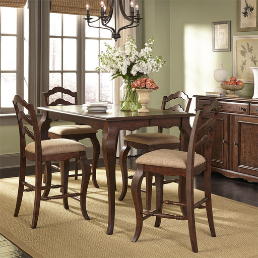 Liberty Furniture | Casual Dining 5 Piece Gathering Table Set in Lynchburg, Virginia 18182