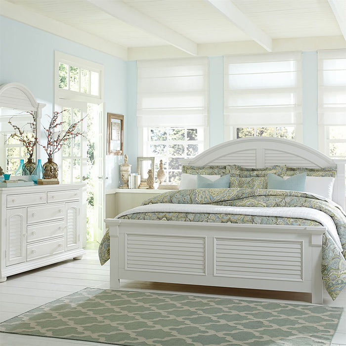 Summer House I Bedroom Set Queen Panel 4 Piece Bedroom Set