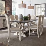 Liberty Furniture | Dining 7 Piece Trestle Table Sets in Hampton(Norfolk), Virginia 2167