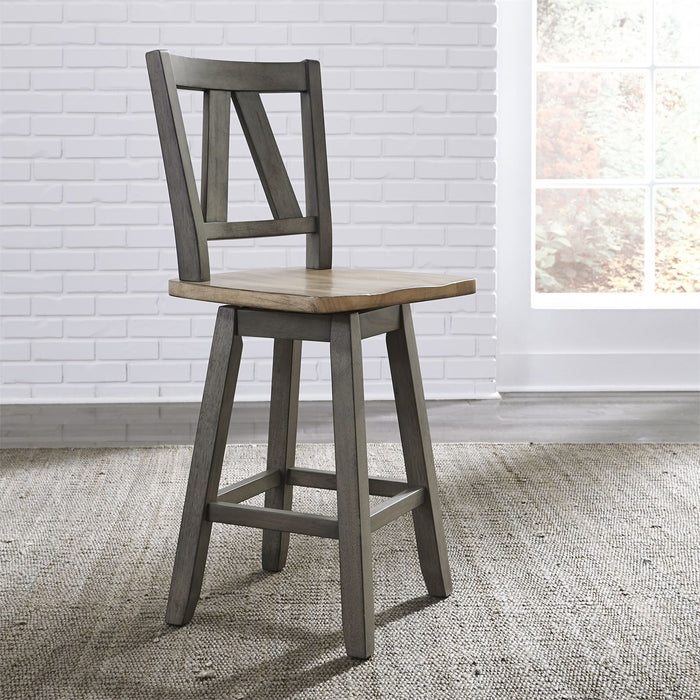 Liberty Furniture | Casual Dining Counter Height Swivel Chair in Richmond,VA 7820