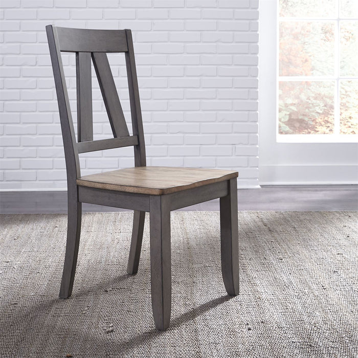 Liberty Furniture | Casual Dining Splat Back Side Chair in Richmond,VA 7822