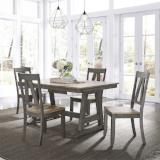 Liberty Furniture | Casual Dining 5 Piece Trestle Table Set in Baltimore, Maryland 7835