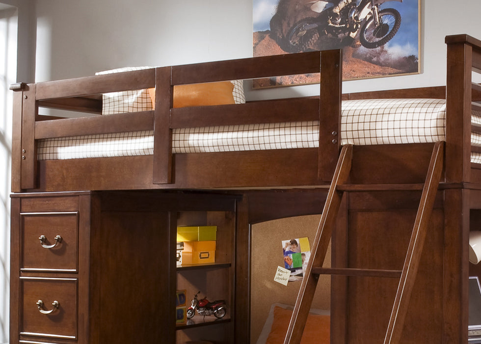 Liberty Furniture | Youth Twin Loft Bed w Cork Beds in Frederick, Maryland 1528