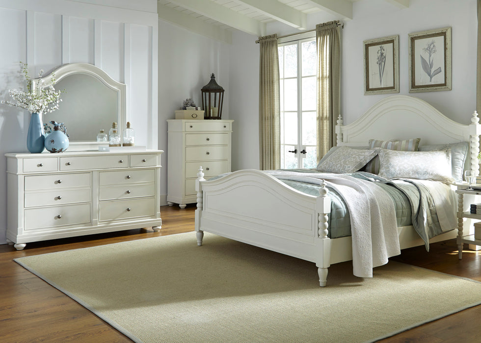 Liberty Furniture | Bedroom King Poster 4 piece Bedroom Set in Pennsylvania 3413