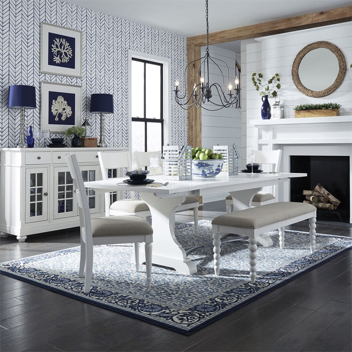 Liberty Furniture | Dining 6 Piece Trestle Table Sets in Washington D.C, Maryland 10786