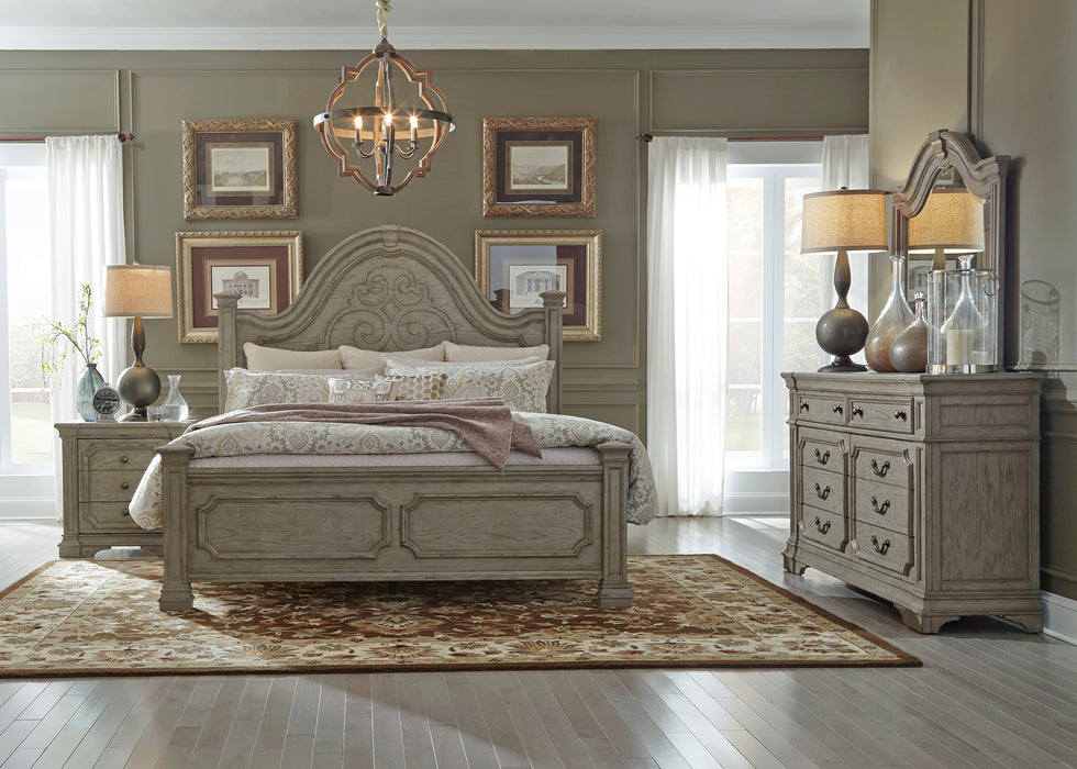 Liberty Furniture | Bedroom King Panel 4 Piece Bedroom Sets in New Jersey, NJ 770