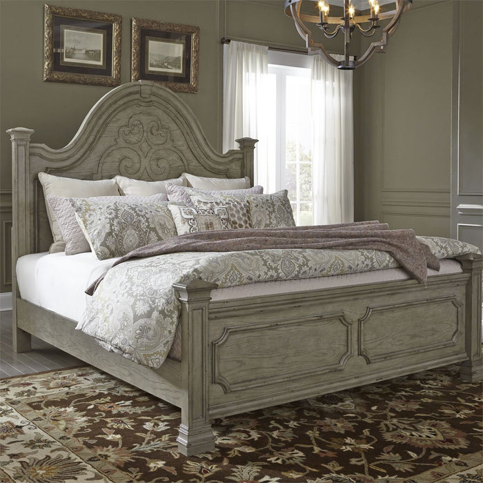 Liberty Furniture | Bedroom King Poster Beds in Charlottesville, Virginia 4792
