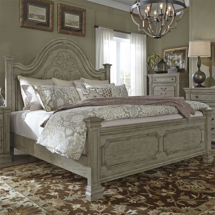 Liberty Furniture | Bedroom King Panel 5 Piece Bedroom Sets in Maryland 4773
