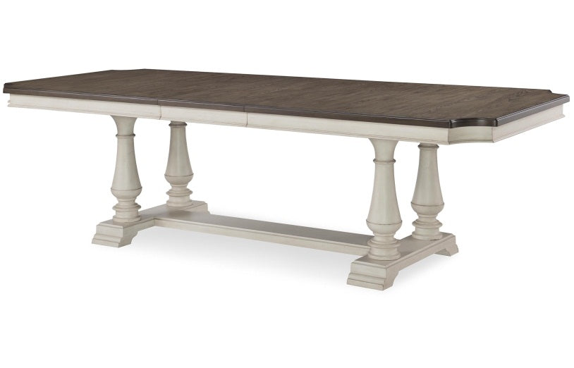 Brookhaven Dining Opt 5 Piece Trestle Table Set