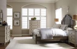 Legacy Classic Furniture | Bedroom Queen Panel Bed With Storage Footboard 4 Piece Bedroom Set in New Jersey, NJ 2835