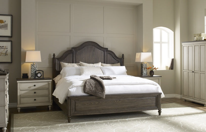 Legacy Classic Furniture | Bedroom King Panel 4 Piece Bedroom Set in Pennsylvania 2707