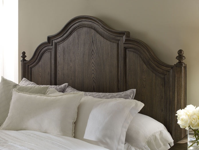 Brookhaven Bedroom King Panel Bed With Storage Footboard 3 Piece Bedroom Set in Pennsylvania 2949