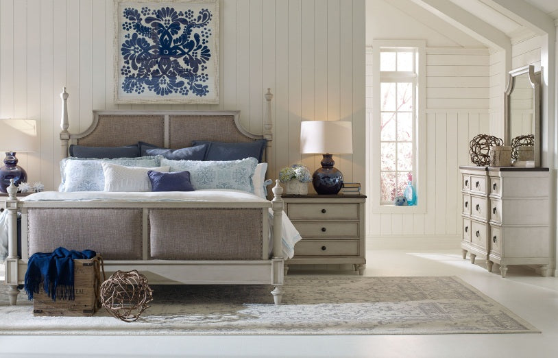 Brookhaven Bedroom Queen Uph 4 Piece Bedroom Set in Pennsylvania 3146