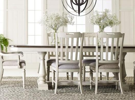 Legacy Classic Furniture | Dining 5 Piece Trestle Table Set in Baltimore, Maryland 3393