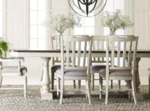 Legacy Classic Furniture | Dining 5 Piece Trestle Table Set in Baltimore, Maryland 3392
