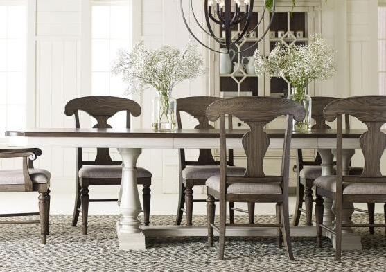 Legacy Classic Furniture | Dining Opt 5 Piece Trestle Table Set in Fredericksburg, VA 3406