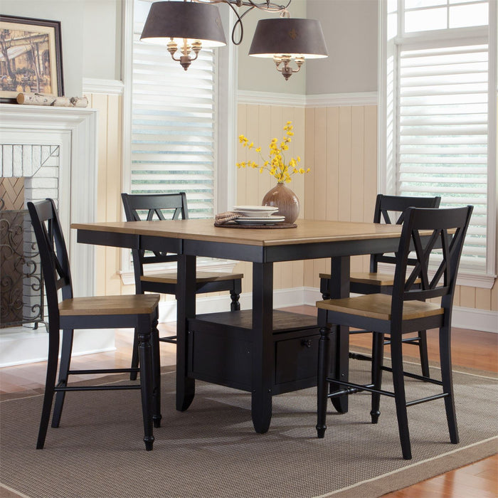 Liberty Furniture | Casual Dining Opt 5 Piece Gathering Table Set in Annapolis, MD 8048