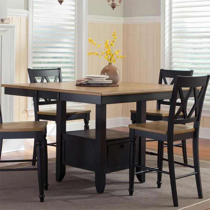 Liberty Furniture | Casual Dining Opt 5 Piece Gathering Table Set in Annapolis, MD 8049