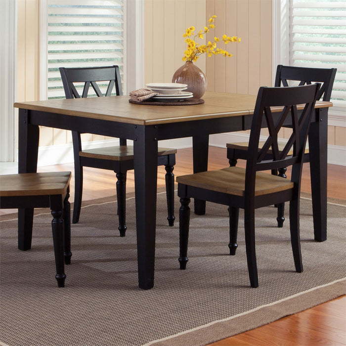 Liberty Furniture | Casual Dining 6 Piece Rectangular Table Set in Charlottesville, VA 8057