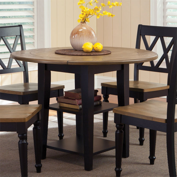 Liberty Furniture | Casual Dining Drop Leaf Leg Table in Richmond,VA 8023
