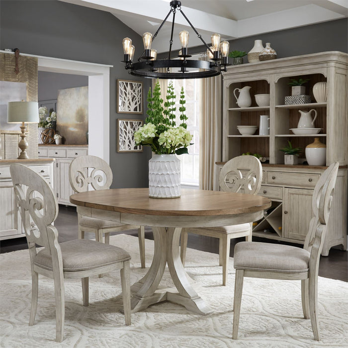 Liberty Furniture | Dining 5 Piece Pedestal Table Sets in Frederick, Maryland 10549