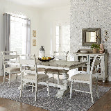 Liberty Furniture | Casual Dining 5 Piece Trestle Table Sets in Southern Maryland, MD 16233