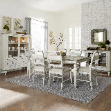 Liberty Furniture | Casual Dining 7 Piece Rectangular Table Sets in Fredericksburg, Virginia 16241