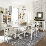 Liberty Furniture | Casual Dining 7 Piece Trestle Table Sets in Baltimore, Maryland 16236