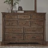 Liberty Furniture |  Bedroom 10 Drawer Dresser in 17375