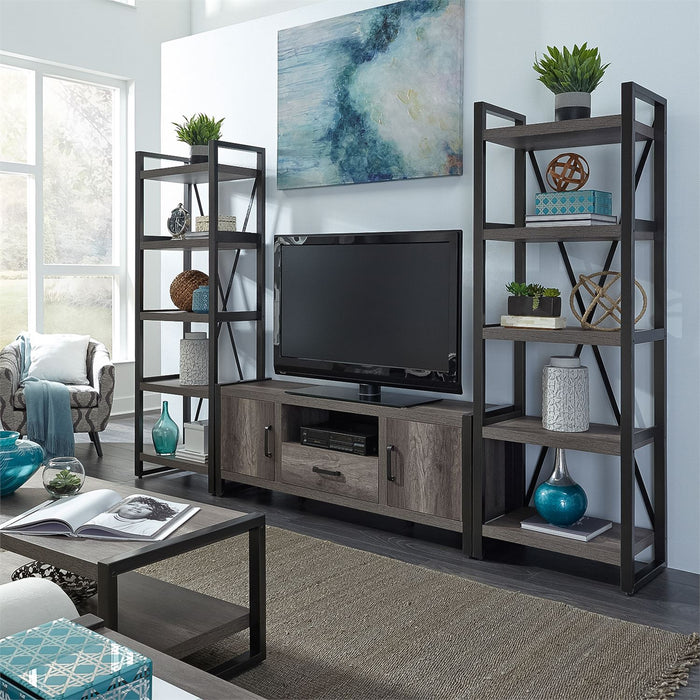 Liberty Furniture | Opt Entertainment Center With Piers in Winchester, Virginia 7653