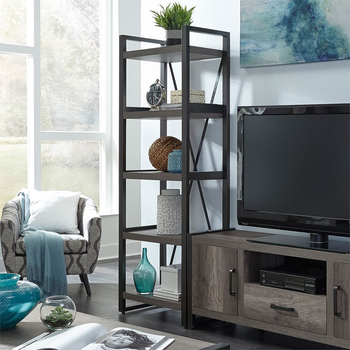 Liberty Furniture | Opt Entertainment Center With Piers in Winchester, Virginia 7655