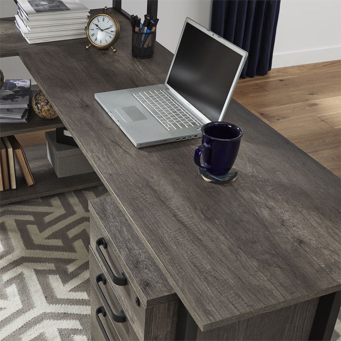 Liberty Furniture | Home Office Desk Top and End Panel in Lynchburg, VA 7600