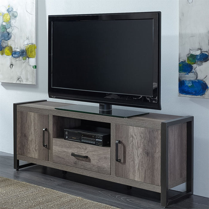 Liberty Furniture | Opt Entertainment Center With Piers in Winchester, Virginia 7654
