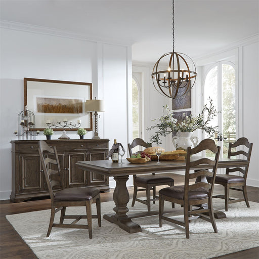 Liberty Furniture | Dining Trestle Table 5 Piece Set in Charlottesville, Virginia 18138