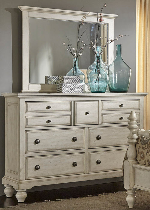 Liberty Furniture | Bedroom Dresser & Mirror in Winchester, Virginia 3431