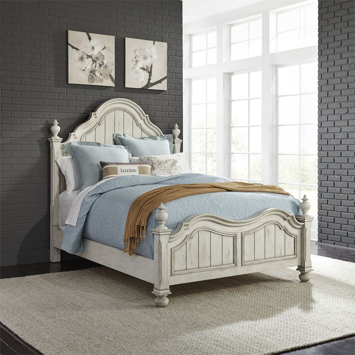 Liberty Furniture | Bedroom (698-BR) Queen Poster Beds in Lynchburg, Virginia 2905