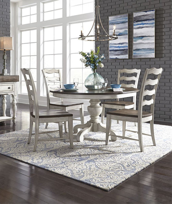 Liberty Furniture | Dining 5 Piece Pedestal Table Set in Southern Maryland, Maryland 7703