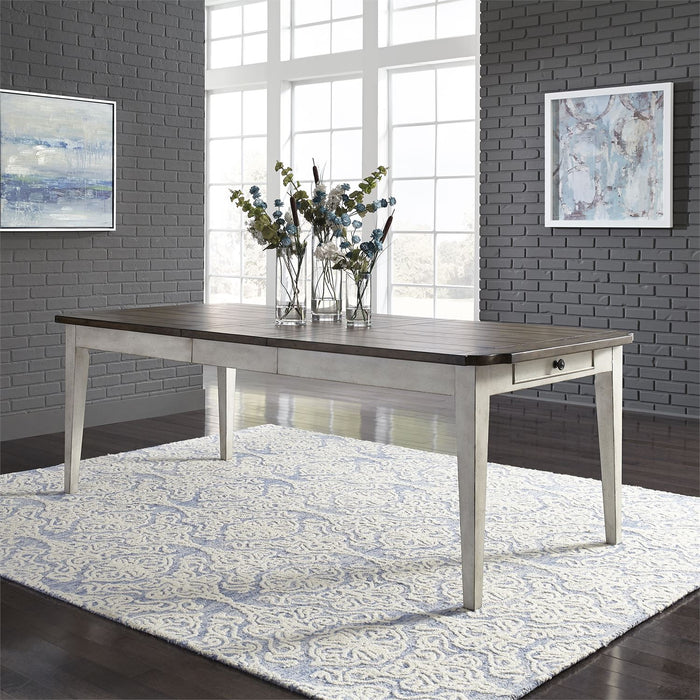 Liberty Furniture | Dining Rectangular Leg Table in Winchester, Virginia 7688
