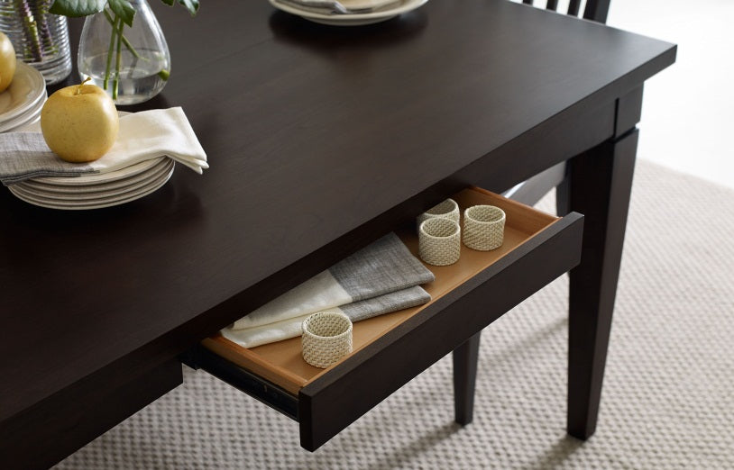 Legacy Classic Furniture | Dining Gathering Rect to Square Leg Table - Peppercorn in Richmond,VA 4024