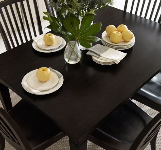 Legacy Classic Furniture | Dining Gathering Rect to Square Leg Table - Peppercorn in Richmond,VA 4025