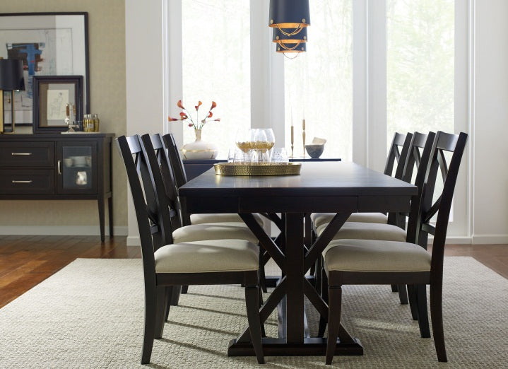 Legacy Classic Furniture | Dining Trestle Table With Slat Back Side Chairs in Fredericksburg, Virginia 4443