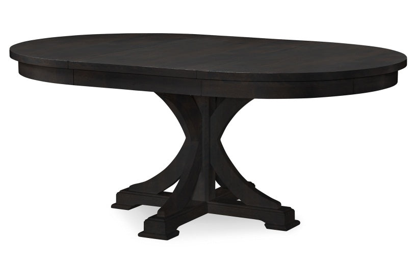 Legacy Classic Furniture | Dining Round to Oval Pedestal Table With Uph Back Side Chairs in Lynchburg, Virginia 4261