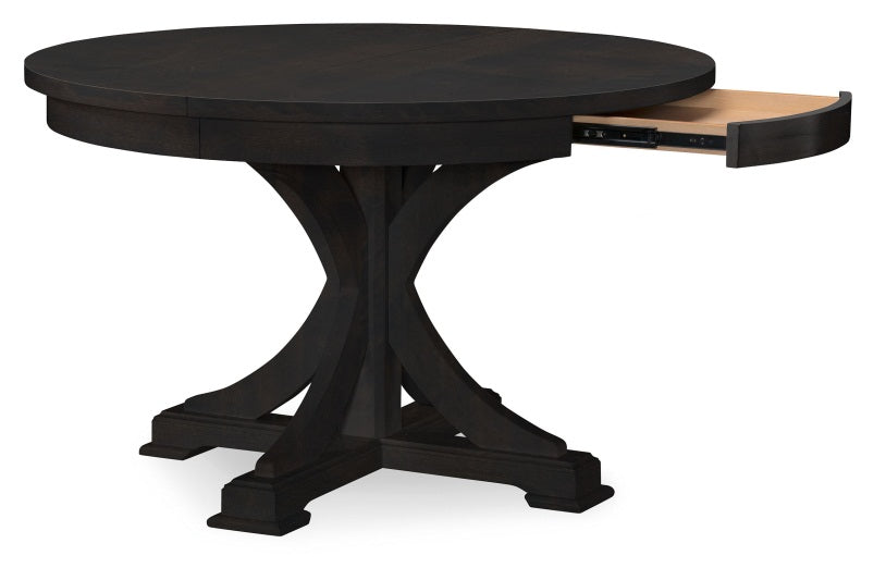 Legacy Classic Furniture | Dining Round to Oval Pedestal Table With Uph Back Side Chairs in Lynchburg, Virginia 4264