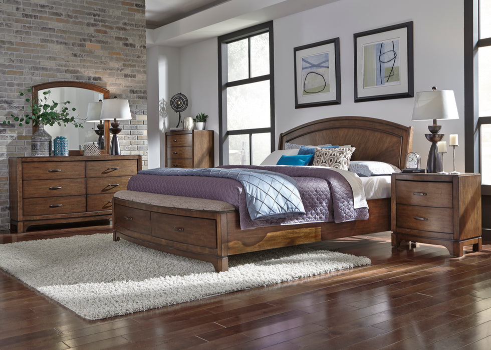 Liberty Furniture | Bedroom King Panel Storage 5 Piece Bedroom Sets in Pennsylvania 1429